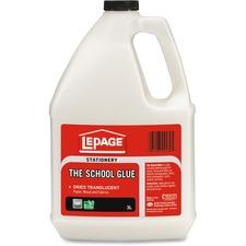 LePage School Glue - 3 L - 1 Each - White