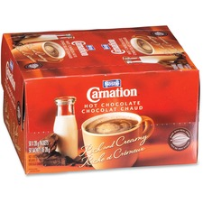 Carnation Hot Drink - Powder - Hot Chocolate Flavor - 50 / Box