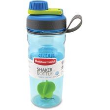 Rubbermaid 20 oz Shaker Bottle - 600 mL - Assorted - Tritan