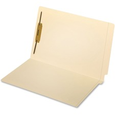 "Pendaflex Straight Tab Cut Legal Recycled End Tab File Folder - 8 1/2"" x 14"" - 400 Sheet Capacity - 2"" Expansion - 1 Fastener(s) - 1"" Fastener Capacity - End Tab Location - Manila - 10% - 50 / Box"