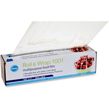 "Ralston Roll & Wrap 1001 - 11"" (279.40 mm) Width x 1001 ft (305104.80 mm) Length - Dispenser - Polyvinyl Chloride (PVC) - Transparent"