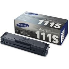 Samsung MLT-D111S Original Toner Cartridge - Black - Laser - 1000 Pages - 1 Each