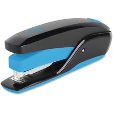 Swingline Quick Touch Desktop Stapler - 20 Sheets Capacity - 210 Staple Capacity - Full Strip - Blue