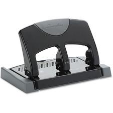 Swingline Manual Hole Punch - 3 Punch Head(s) - 45 Sheet Capacity