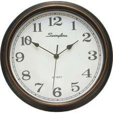 Swingline Wall Clock - Plastic Case