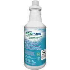 Unisource 2095210001 ECOPURE 946ml Cream Cleanser EP76 (12/Cs) - 946 mL - Eco-friendly - 1 Each