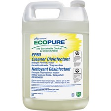 Unisource 2135278001 4L EP50 Cleaner Disinfetant with Hydrogen Peroxide - 4 L - 1 Each