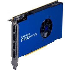 AMD Radeon Pro WX 5100 Graphic Card - 713 MHz Core - 1.09 GHz Boost Clock - 8 GB GDDR5 - Half-length/Full-height - Single Slot Space Required