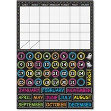 ASH 77003 Ashley Prod. Chalkbrd Design Calendar Set ASH77003