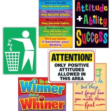 TEP A67924 Trend Attitude Matters Posters Combo Pack TEPA67924
