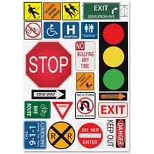 ASH 77007 Ashley Prod. Safety Signs Design Calendar Set ASH77007