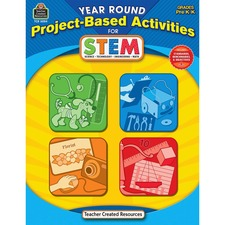 TCR 3024 Teacher Created Res. PreK Project-based STEM Book TCR3024