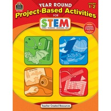 TCR 3025 Teacher Created Res. Gr1-2 Project-based STEM Book TCR3025