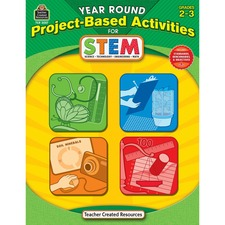 TCR 3027 Teacher Created Res. Gr2-3 Project-based STEM Book TCR3027