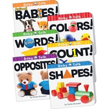 TCR 418679 Teacher Created Res. Baby Talk Board Book Set TCR418679