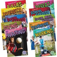 TCR 697961 Teacher Created Res. Gr 3-5 Social Skills Book Set TCR697961