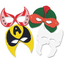 RYL R52097 Roylco Super Hero Masks RYLR52097