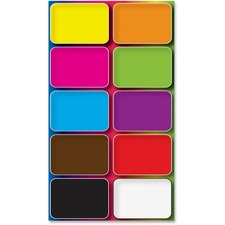 ASH 78003 Ashley Prod. Colors Design Mini Whiteboard Erasers ASH78003