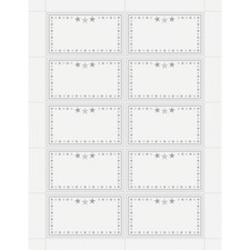GEO 48674 Geographics Star Border Recognition Cards GEO48674