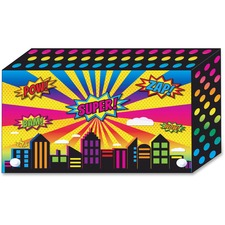 ASH 90350 Ashley Prod. Superhero Design Index Card Holder ASH90350