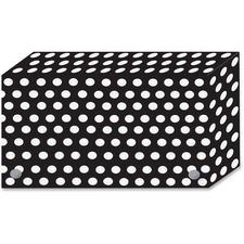 ASH90351 - Ashley B/W Dots Design Index Card Holder