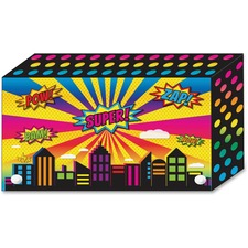 ASH 90450 Ashley Prod. Superhero Design Index Card Holder ASH90450
