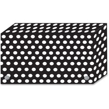 ASH 90451 Ashley Prod. B/W Dots Design Index Card Holder ASH90451