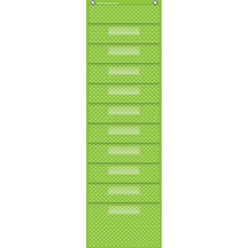 TCR 20737 Teacher Created Res. Polka Dot Storage Pckt Chart TCR20737