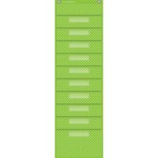 TCR 20737 Teacher Created Res. Polka Dot Storage Pckt Chart TCR20737