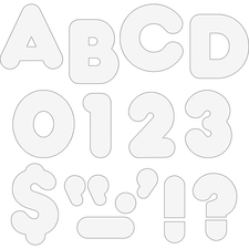 TEP 1567 Trend 4-inch Casual Uppercase Ready Letters TEP1567