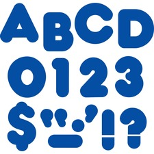 TEP 1602 Trend 4-inch Casual Uppercase Ready Letters TEP1602