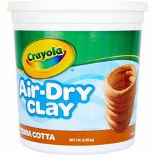 CYO 572004 Crayola Terracotta Air-Dry Clay CYO572004