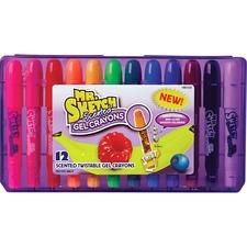 SAN 1951333 Sanford Mr. Sketch 12-ct Scented Gel Crayons SAN1951333