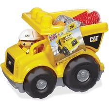 MBL CND88 Mega Bloks First Builders CAT Rolling Dump Truck MBLCND88