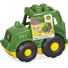 MBL CND89 Mega Bloks First Builders John Deere Tractor Set MBLCND89