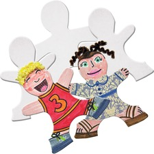 RYL R52024 Roylco Self-portrait Kid Puzzle Pieces RYLR52024