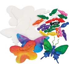 RYL R83260 Roylco Butterfly Ornaments Craft Kit RYLR83260