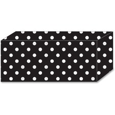 ASH 17850 Ashley Prod. B/W Polka Dot Magnetic Blocks ASH17850