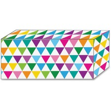 ASH17852 - Ashley Color Triangle Design Magnetic Blocks