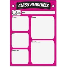 ASH 70007 Ashley Prod. Big Magnetic Class Headlines Chart ASH70007