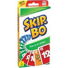 MTT 42050 Mattel Skip-Bo Card Game MTT42050