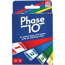 MTT W4729 Mattel Phase 10 Card Game MTTW4729