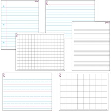 TEP 27906 Trend Papers/Grids Wipe-Off Combo Pack TEP27906