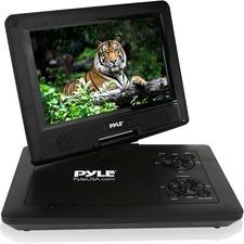 """Pyle PDV71BK Portable DVD Player - 7"""" Display - 800 x 480 - Black"""