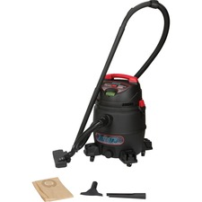 Aurora Tools SDN116 Canister Vacuum Cleaner - 3.36 kW Motor - 30.28 L - Bagged - Hose, Extension Wand, Utility Nozzle, Crevice Nozzle, Floor Brush, Filter - 16 ft Cable Length - 2123.8 L/min