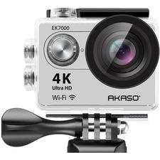 AKASO EK7000 4K WIFI Action Camera Ultra HD Waterproof Camcorder 12MP in Silver
