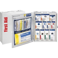 FAO 90658 First Aid Only 25 Person Med. SC Food Srvc Cabinet FAO90658