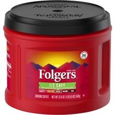 FOL 20527 Folgers 1/2 Caff Coffee FOL20527