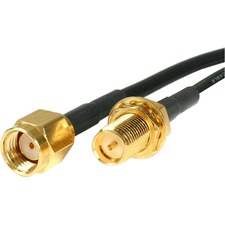 StarTech.com RP-SMA to SMA Wireless Antenna Adapter Cable