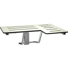 ASI8206L - ASI 8206-L L-Shaped Phenolic Fold-Up Shower Stall Seat
